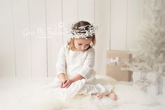 Christmas mini session...little angel