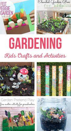 Garden Kids Crafts a