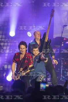 The Bay City Rollers in concert at the Barrowlands, Glasgow, Scotland, Britain - 22 Dec 2015  The Bay City Rollers performing at the Barrowlands Ballroom in Glasgow. 22 Dec 2015