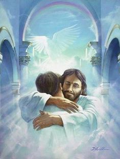 jesus welcoming to heaven - Google Search