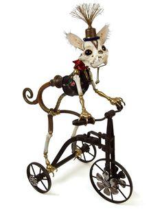 Jessica Joslin's antique mechanical oddities.  <3