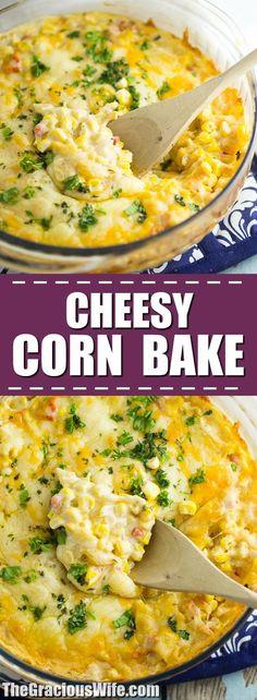 Cheesy Corn Bake Rec...
