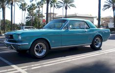 Tahoe Turquoise Blue 1966 Ford Mustang Hardtop - MustangAttitude.com Mobile
