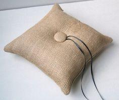 Ring Bearer Pillow with Calendar: Inspiration One