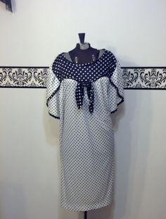 80's Does 50's Rockabilly Polka Dot Black & by RetrosaurusRex, $39.99