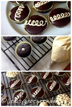 "Gluten Free ""Hostess"" Cupcakes"