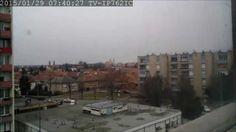 Az első hó Szombathelyen. Egy nap egy percben. One day in one minute #timelapse #time #lapse #weather #szombathely