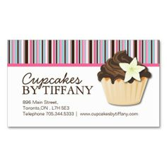 Cute pink and green bakery business card bakery business bakery cute pink and green bakery business card bakery business bakery business cards and bakeries reheart Images