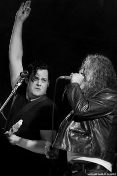 Jack White & Robert Plant at Lollapalooza Argentina