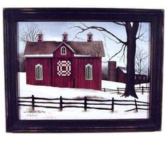 Barn Picture 'Lover's Knot Quilt Block by BoggyCreekPrimitive #differencemakesus #quiltblock