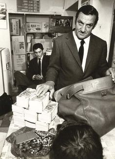 """Alain Delon & Lino Ventura in """"The Last Adventure""""  (1967)"""
