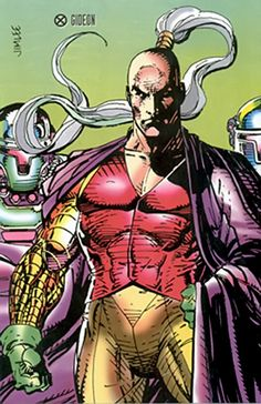 Gideon - Marvel Comics - EXternal - New Warriors | Mutants enemy
