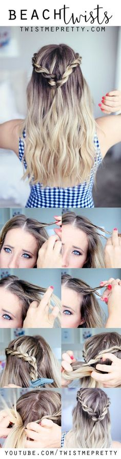 simple medium length hairstyles, fast cute easy hairstyles, mens top haircuts, modern haircuts, hot … - Home Twist Hairstyles, Trendy Hairstyles, Wedding Hairstyles, Spring Hairstyles, Hairstyles 2018, Summer Hairdos, Interview Hairstyles, Easy Beach Hairstyles, Cute Hairstyles For Teens