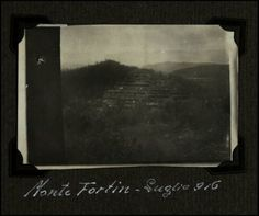 Monte Fortin - luglio 1916 | Reparto fotocinematografico dell'Esercito