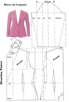 Sewing Patterns - Coat Patterns - Jacket Patterns - Bolero Pattern - Skirt Patterns - Blazer Pattern - Sewing Tutorials - Sewing E-book Coat Patterns, Dress Sewing Patterns, Blouse Patterns, Sewing Patterns Free, Clothing Patterns, Vintage Patterns, Vogue Patterns, Sewing Clothes Women, Diy Clothes