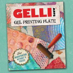 Gelli Printing Plate | DIY Textile School