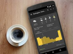 Google News and Weather's new look on Android