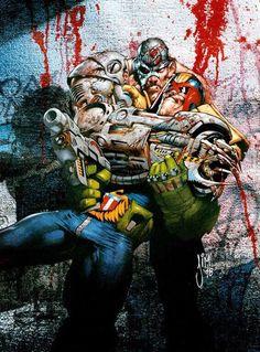 Judge Dredd and Mean Machine-Angel - Jim Murray