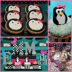 snowflake and penguin birthday party ideas - Google Search