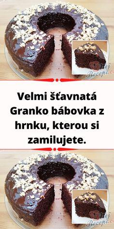 Czech Desserts, Sweet Desserts, Sweet Recipes, Czech Recipes, Beef Bourguignon, International Recipes, No Bake Cake, Food Art, Food And Drink
