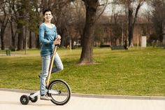 Halfbike - the personal vehicle that brings joy back to urban mobility.