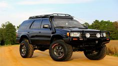 Black Toyota 4Runner Lifted pics - I talk about cars