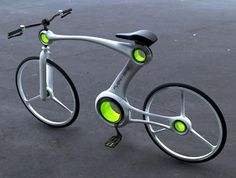 Flexi-Bike, just like it's name suggests, it's a flexible bicycle with rotating frame that allows its rider to change its shape.