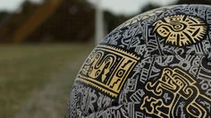 A closer look at the Aztec Soccer Ball