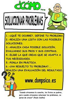 Cómo solucionar problemas.......