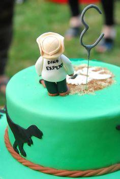 Dinosaur Themed Birthday Cake IntensePursuits