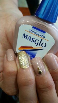 Masglo_oficial Beauty Nails, Nail Designs, Food And Drink, Nail Polish, Make Up, Nail Art, Magnolia, Hair, Ideas