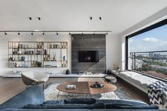 Apartment in Tel Aviv by Aviram Kushmirski « HomeAdore www.fiori.com.au modern living room design ideas