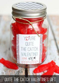 What a Catch Valentine Gift on { lilluna.com }