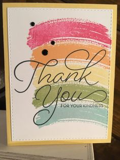 My Own Thanks #4 by mfb - Cards and Paper Crafts at Splitcoaststampers