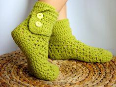 25 Besten Gehäkelte Socken Bilder Auf Pinterest Crochet Patterns