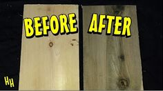 223 - Aging Wood with Baking Soda - YouTube