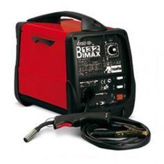Indispensabile Saldatrice a filo FLUX (no gas) e MIG-MAG (gas). Protezione termostatica