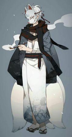 Mask Anime Boy