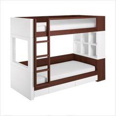 modern wood bunk beds