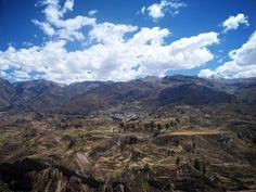 Terraces; Chivay, Peru