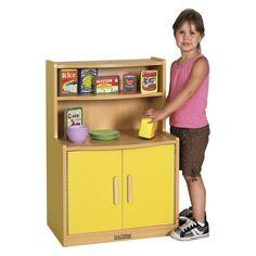 ECR4KIDS Colorful Essentials Play Cupboard Blue - ELR-0745-BL