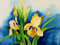 http://fineartamerica.com/featured/peach-irises-janis-grau.html