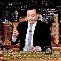 Jimmy Fallon on Taylor Swift