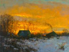 Peter Fiore - Landscape Artist: Travis Gallery Preview - 01 (Opening Tonight)