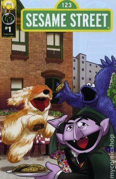 Sesame Street (2013 Ape Entertainment) 1B Comic book cover
