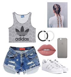 """""""Untitled #228"""" by britney-pitts ❤ liked on Polyvore featuring adidas Originals, Lime Crime, Lokai and Native Union"""