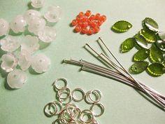 Shrinky Dinks Flowers and Leaves tutorial