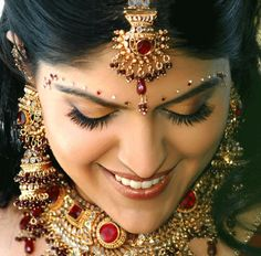 Indian Bridal Makeup - pretty!