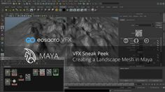 Learn how to create a simple landscape in Maya.  In this video you will learn how to use Displacement Mapping, NURB Surfaces, Layered Textures and several other tips in Maya.  This video is for those of you who are already familiar with using Maya.   Its been a long time since I have actually uploaded anything so wanted to upload something related to what's coming up in the next few weeks. This tutorial is a part of the VFX Series I am working on. Just one of the first Sneak ...