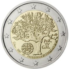 The different commemorative coins of the euro area countries. Euro Währung, Euro 2012, Piece Euro, Portugal Euro, Euro Coins, Foreign Coins, Commemorative Coins, World Coins, Coin Collecting